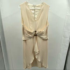Valentino cream colored dress (S)